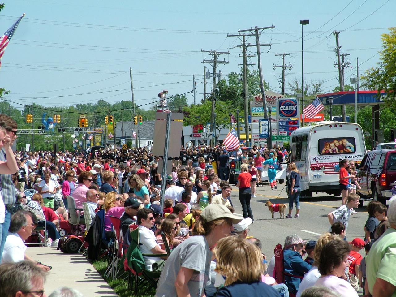 Walled Lake Memorial Day Parade