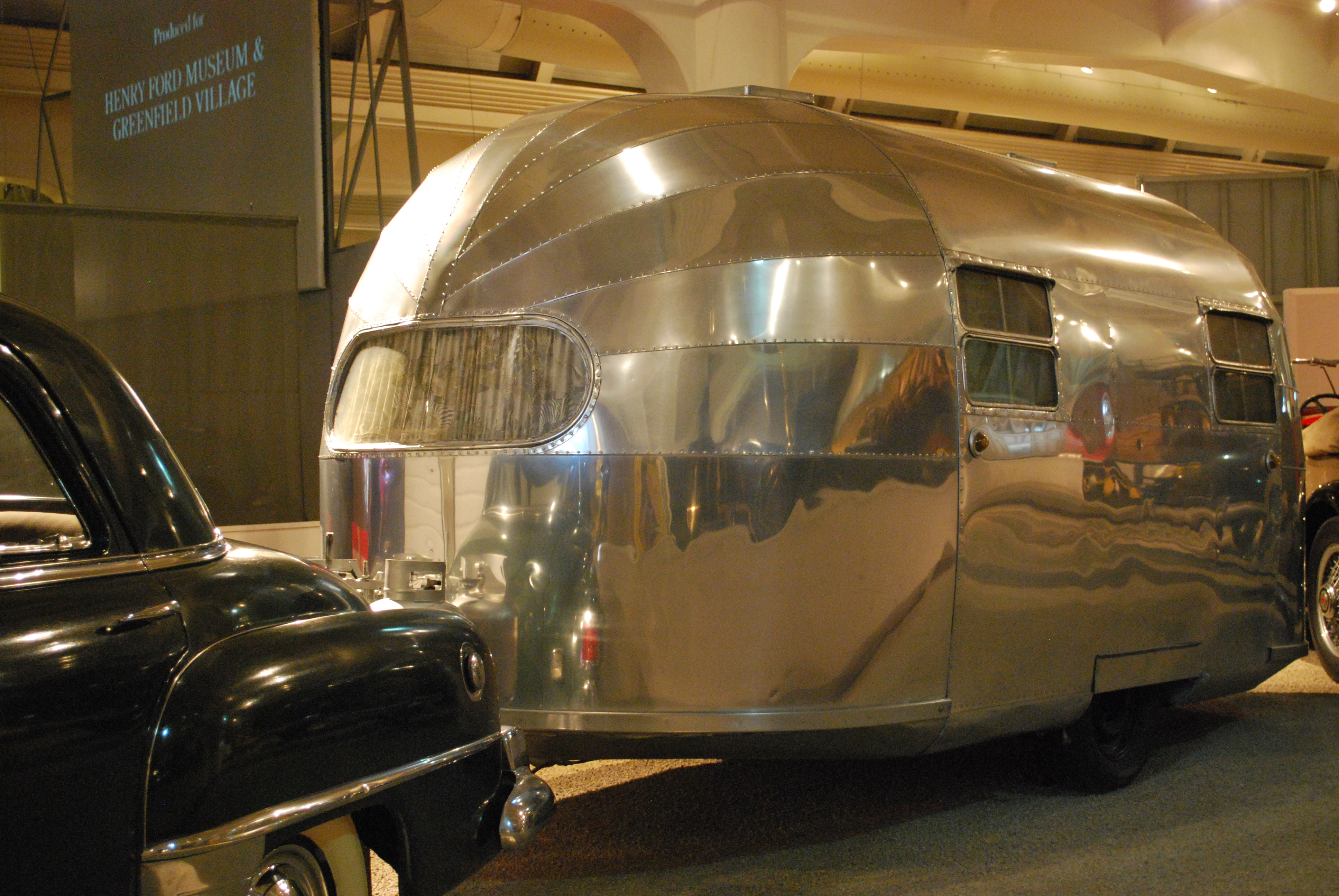 RV Trailer - Camper at Henry Ford Museum