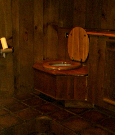 Indoor Outhouse - Commerce Mi Real Estate