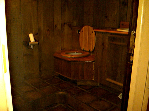 Outhouse Bathroom Decorating Ideas