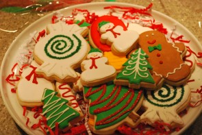 Dandy Delights Christmas Tray