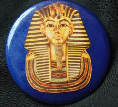 King Tut Death Mask button