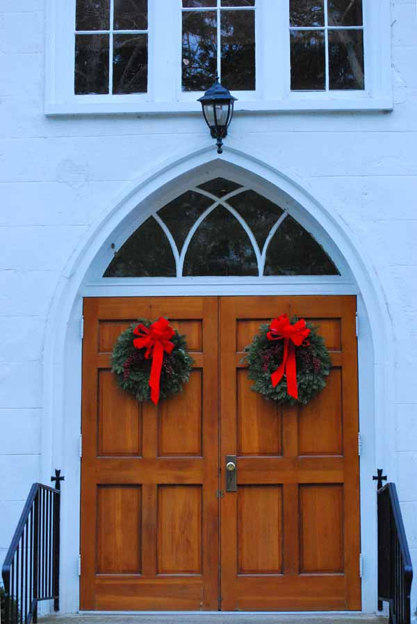Barracks Church Door