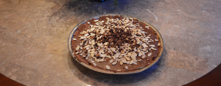 Chocolate Banana Pie – Gluten Free & Dairy Free
