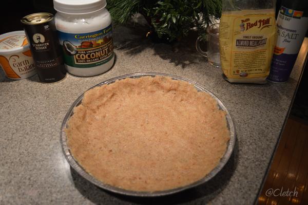 Gluten Free chocolate banana pie