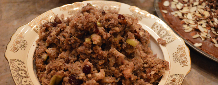 Gluten Free Stuffing for Turkey or Chicken