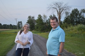 In Moscow, Ontario with Belinda & Bob Simpson. If you're a vet in Canada, you should know Bob!