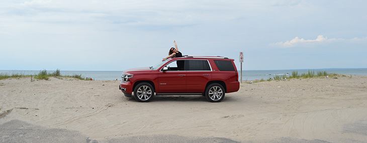 2015 Chevy Tahoe at Wasaga Beach