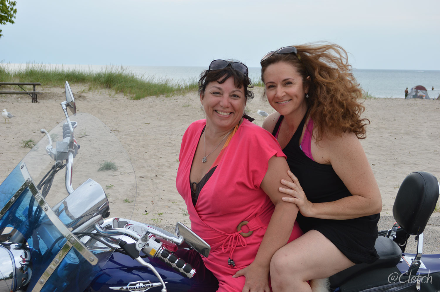 wasaga-beach-cathy-pat-dave-bike