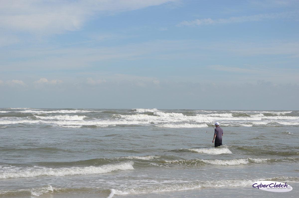 Pea Island fisherman
