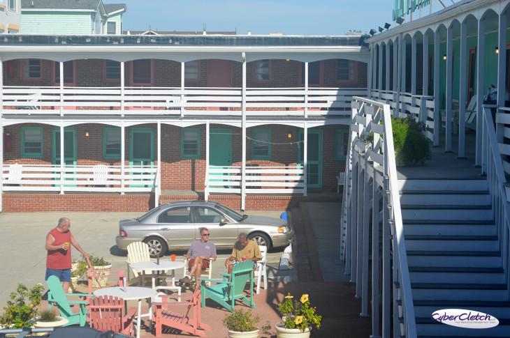 Sea Foam Motel Patio