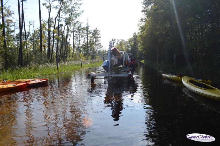 Alligator River flooding