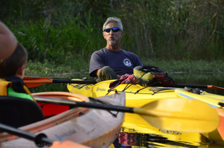 DJ: Coastal Kayak Guide
