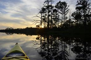 Alligator River sunset