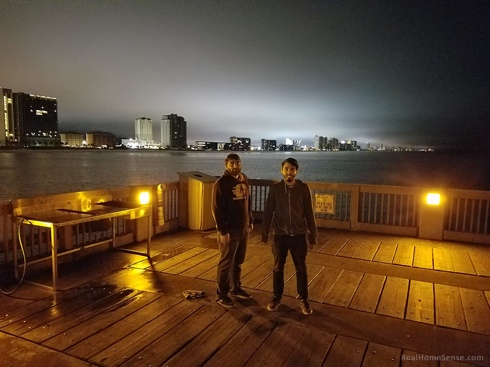 Boys on Panama City Pier - Pier Park