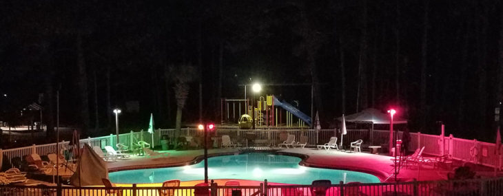 Raccoon River Campground in Panama City Beach