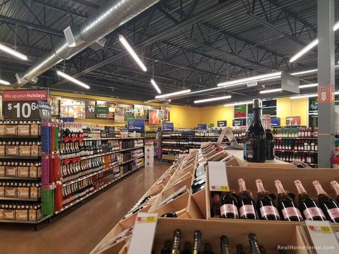 Walmart Liquor Store Interior