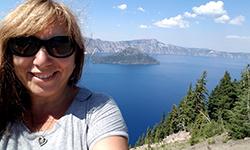 Pat Williams at Crater Lake National Park