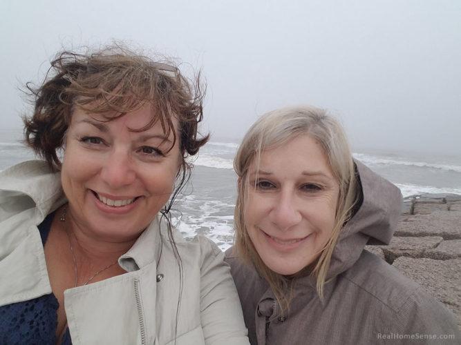 Pat & Naomi on Galveston Island