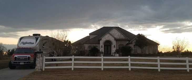 Naomi's house in Texas
