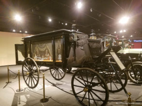 National Museum of Funeral History Hearse
