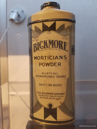 National Museum of Funeral History Morticians Powder