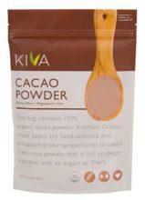 Kiva Raw Organic Cacao Powder Package