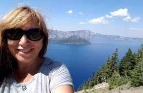 Pat Williams at Crater Lake