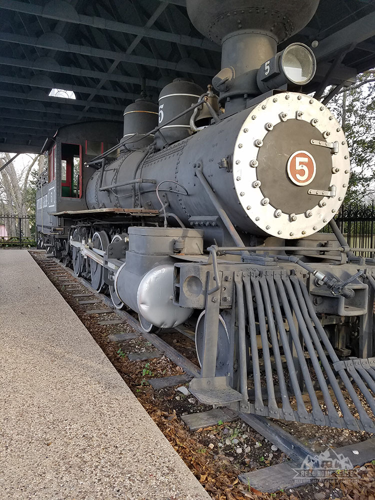 Historic Train in Livingston TX