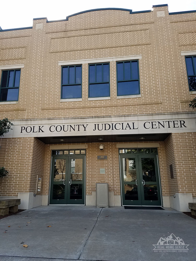 The Polk County Judicial Center