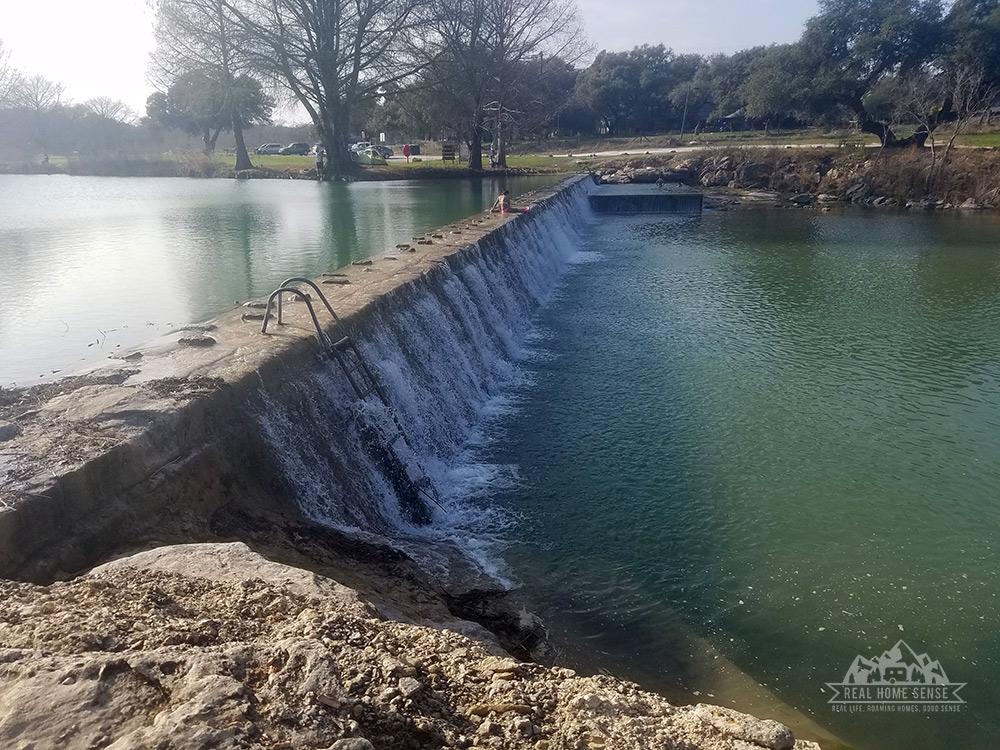 Dams along the Blanco River