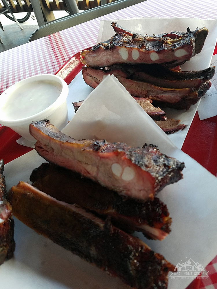 Old 300 BBQ ribs