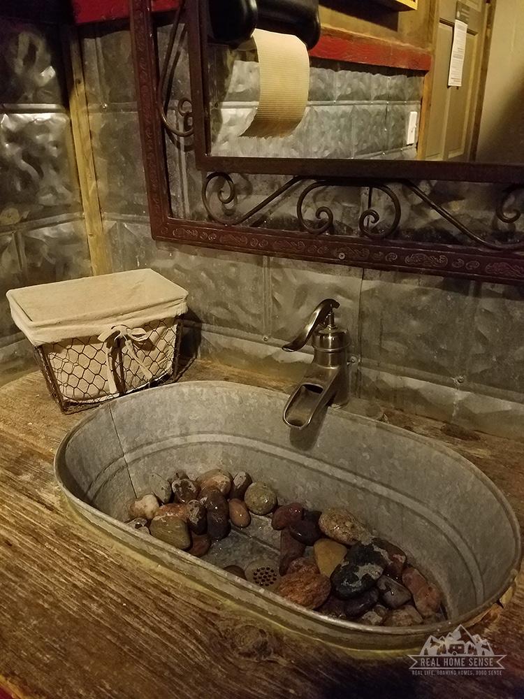 Old 300 BBQ restroom sink
