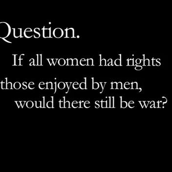 International Women's Day Question