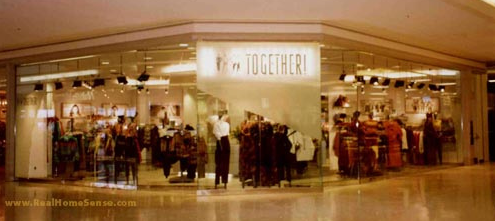 Together Store Window Models | Scarborough Town Center