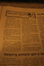 Growth Spurts Hypothetical Children 071697