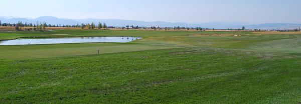 Golf Course View in Black Bull Bozeman Montana