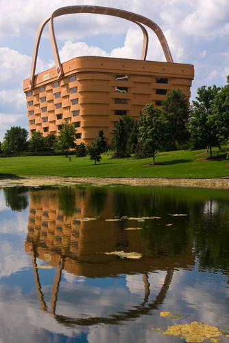 Longaberger basket building & reflection