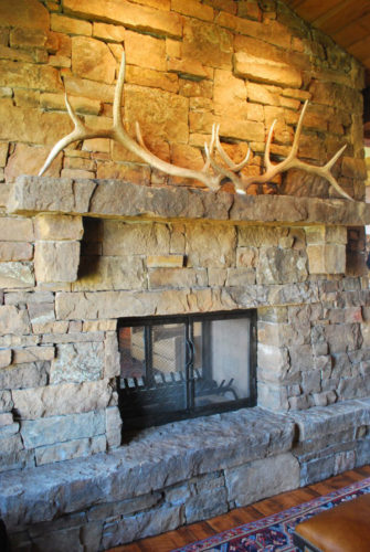 Montana Dovetail Fireplace