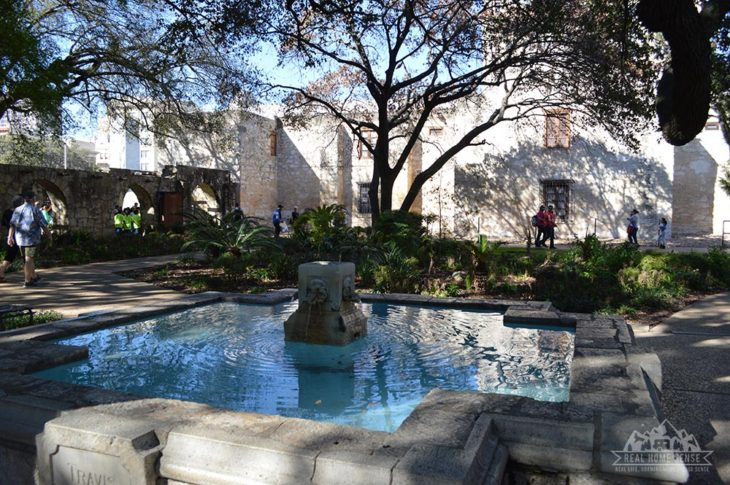Alamo Fountain