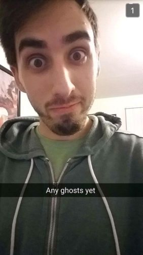 Any ghosts yet?