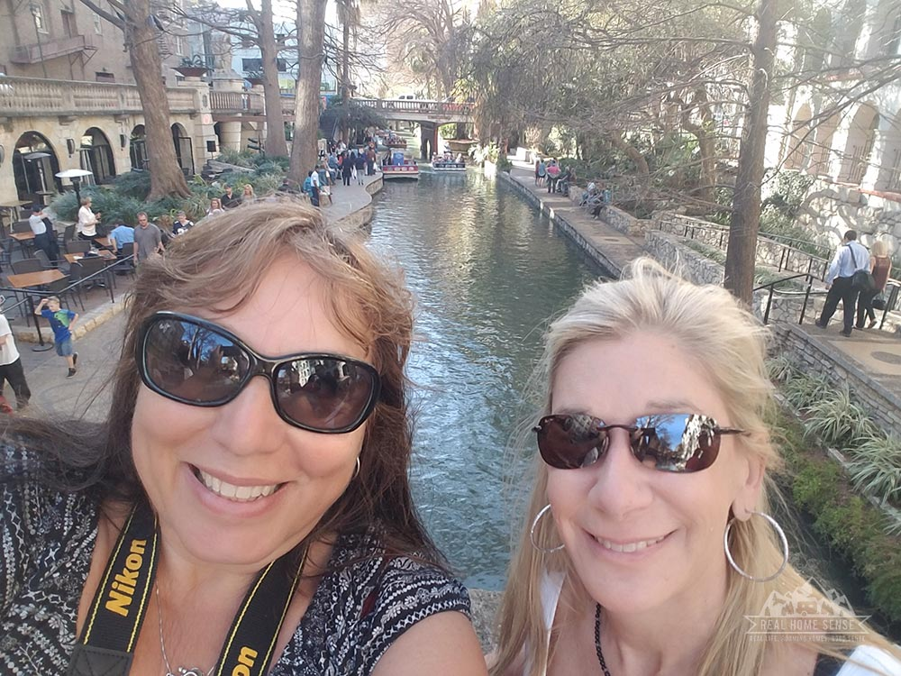 Naomi & I at the River Walk in San Antonio