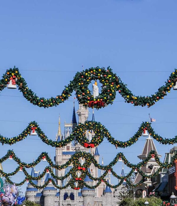 Let's Change the World Together - Walt Disney World Main Street at Christmas