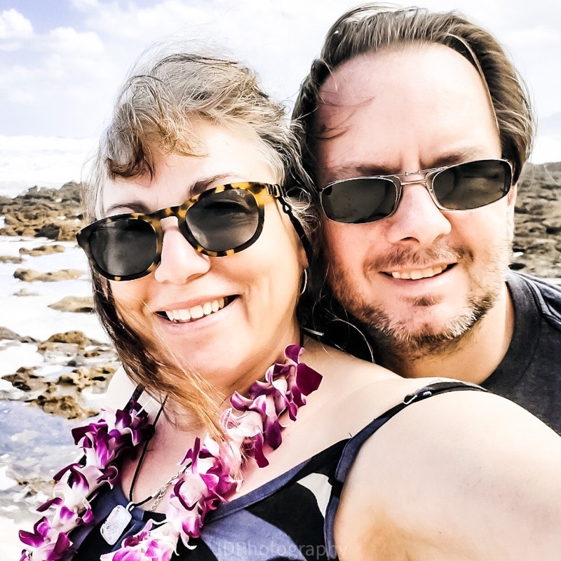 James and Pat in Maui