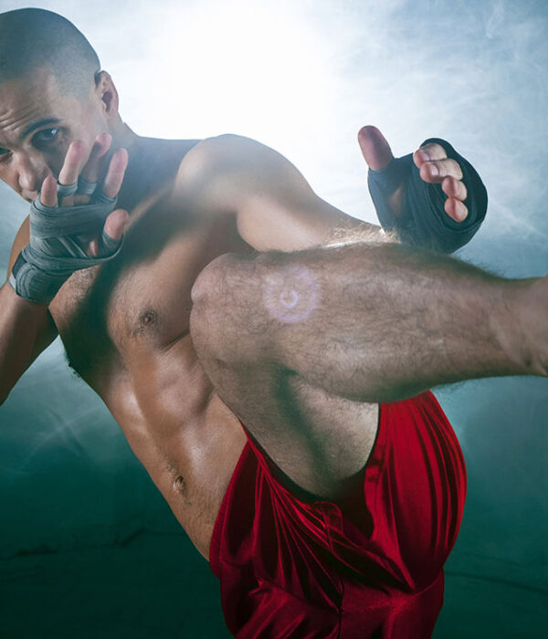 From here to Laredo - image of kick boxer