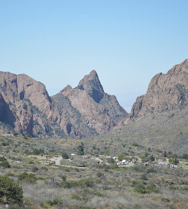 Big Bend National Park Chisos Mountains