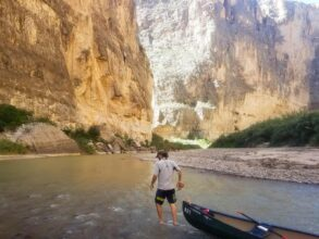 Big Bend National Park - Canoeing the Rio Grand