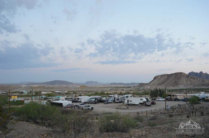 View of Study Butte RV Resort