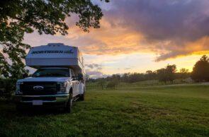 Real Home Sense - Camping at a Virginia Vineyard